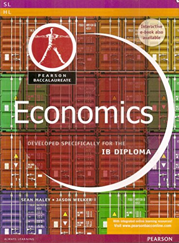 9780435089986: Pearson Baccalaureate Economics for the IB Diploma