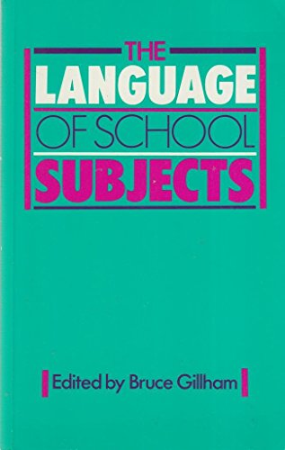 9780435102692: The Language of School Subjects