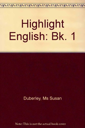 9780435103125: Highlight English: Bk. 1