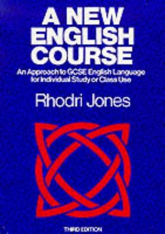 9780435105013: New English Third Jones