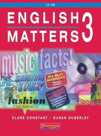 9780435105433: English Matters (No. 3)