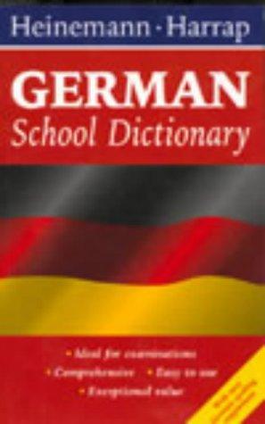 9780435108618: Heinemann Harrap German School Dictionary
