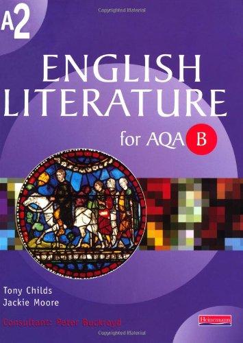 9780435109813: A2 English Literature for AQA/B