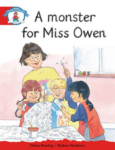 9780435110406: Storyworlds Reception/P1 Stage 1, Our World, A Monster for Miss Owen (6 Pack): Our World Pack of 6