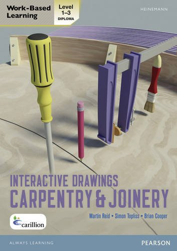 9780435127367: Level 1-3 NVQ/SVQ Diploma Carpentry and Joinery Interactive Drawings (Carpentry and Joinery NVQ and CAA Diploma Levels 1 and 2)