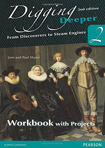 9780435127374: Digging Deeper 2: From Discoverers to Steam Engines Workbook with Projects (Digging Deeper for the Netherlands)