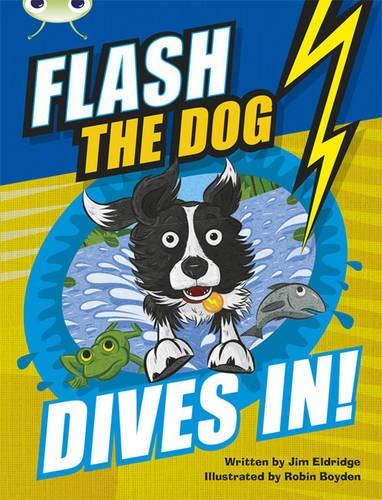 Flash the Dog Dives in!: Brown B/3b (Mixed media product): Jim Eldridge