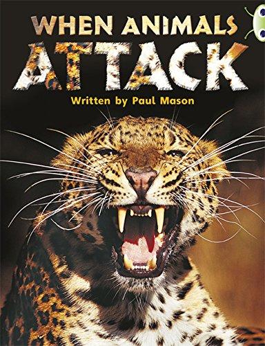 9780435148317: Bug Club Non-fiction Purple A/2C When Animals Attack 6-pack