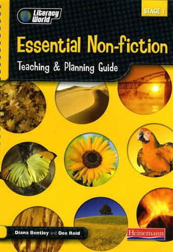 9780435157517: Literacy World Stage 1 Non-Fiction: Essential Teaching & Planning Guide Scotland/NI Vers (LITERACY WORLD NEW EDITION)