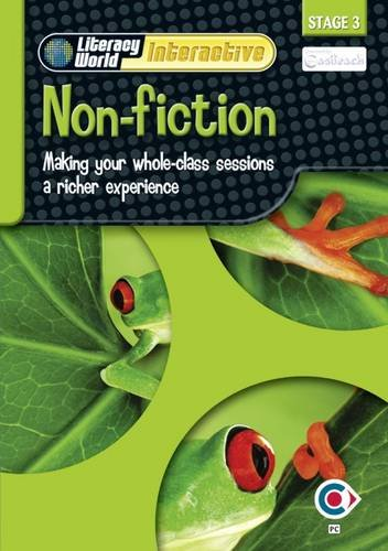 Literacy World Interactive Stage 3 Non-Fiction: Software Single User Pack Scotland/NI: ...