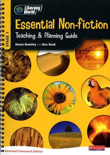 9780435158200: Literacy World Stg 1: Essential Non-F Teaching & Planning Guide Framework England/Wales (LITERACY WORLD NEW EDITION)