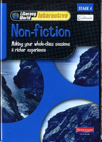 Literacy World Interactive Stage 4 Non-Fiction Single User Pack Version 2 Framework: Stage 4