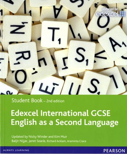 9780435158958: Edexcel International GCSE English as a Second Language 2nd edition Student Book with eText
