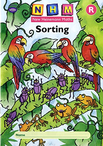 9780435165284: New Heinemann Maths: Reception: Sorting Activity Book (8 Pack)