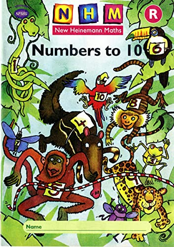 9780435165307: New Heinemann Maths: Reception: Numbers to 10 Activity Book (8 Pack)