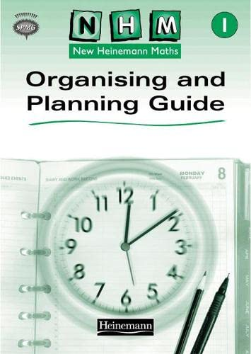 9780435167479: New Heinemann Maths Year 1, Organising and Planning Guide
