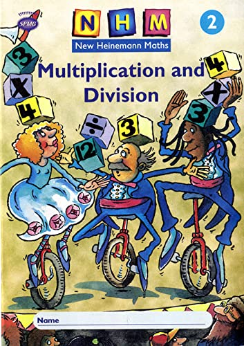 9780435169886: New Heinemann Maths Yr2, Multiplication Activity Book (8 Pack)