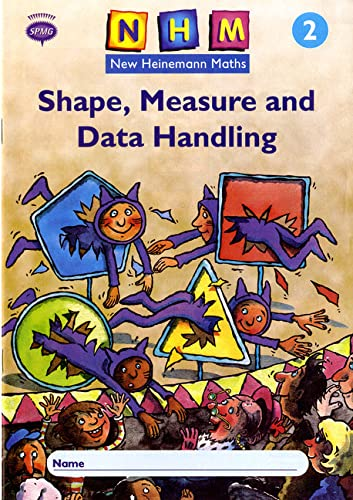 9780435169909: New Heinemann Maths Year 2: Shape, Measure and Data Handling Activity Book 8 Pack