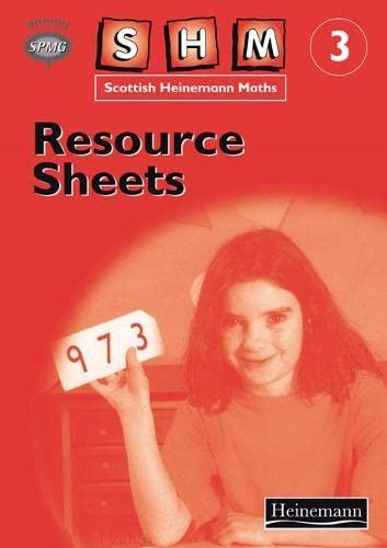 9780435173135: Scottish Heinemann Maths: 3 - Resource Sheets