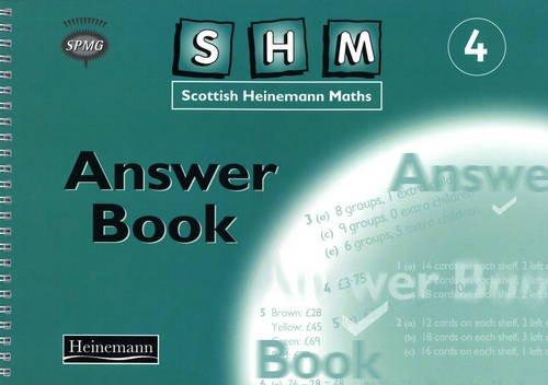 9780435175351: Scottish Heinemann Maths 4: Answer Book