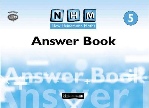 New Heinemann Maths Year 5, Answer Book: Spmg