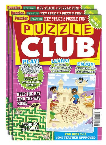 Puzzle Club Issue 8 Half-Class Pack (Paperback)