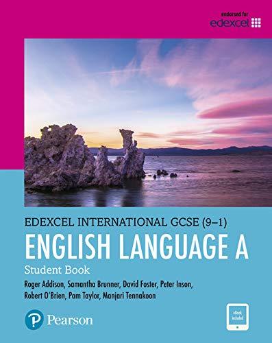 9780435182564: Edexcel International GCSE. English language and literature. Student's book. Per le Scuole superiori. Con e-book. Con espansione online