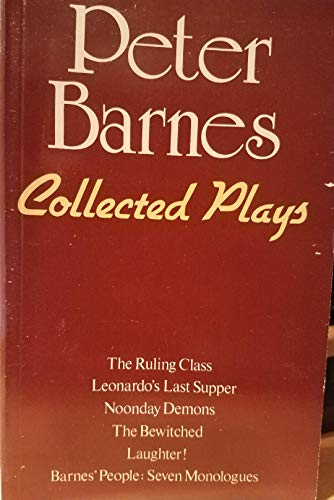 Collected Plays: Barnes, Peter