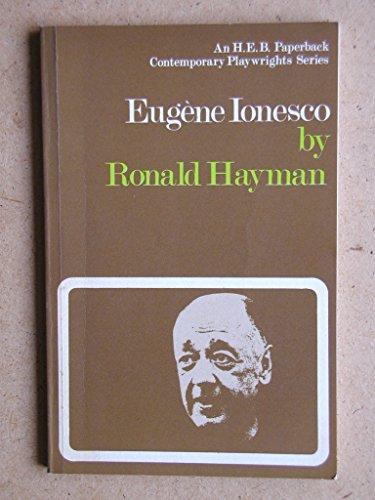 9780435184100: Eugene Ionesco (Contemporary Playwrights)