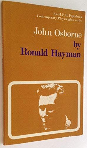 9780435184285: John Osborne (Contemporary Playwrights)