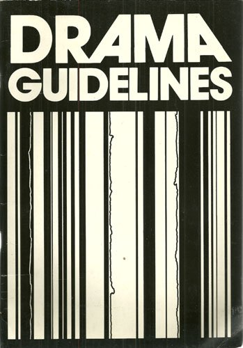 9780435186708: Drama Guidelines