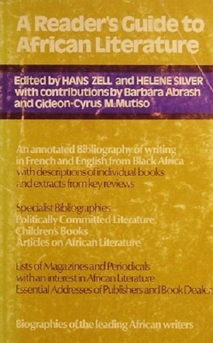 9780435187231: Reader's Guide to African Literature