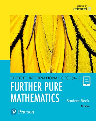9780435188542: Edexcel international GCSE (9-1). Student's book. Further pure maths. Per le Scuole superiori. Con espansione online