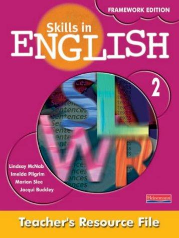9780435192761: Skills in English Framework Edition Teacher's Resource File 2 + CDR
