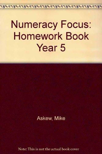 9780435217334: Numeracy Focus: Homework Book Year 5