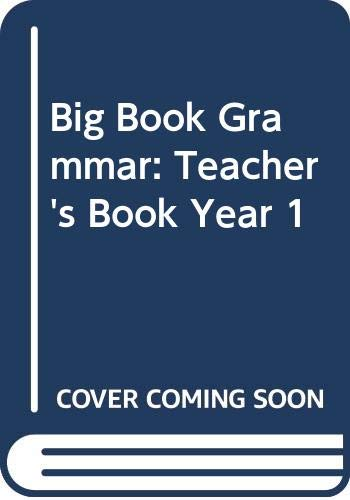 9780435222369: Big Book Grammar: Teacher's Book Year 1