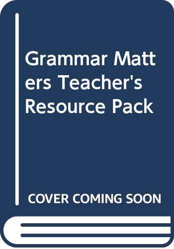 9780435224691: Grammar Matters: Teachers' Resource Pack