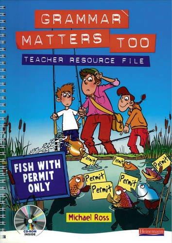 9780435224882: Grammar Matters Too Teacher Resource File