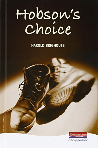 9780435232801: Hobson's Choice (Heinemann Plays for 14-16+)