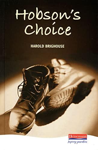 9780435232801: Hobson's Choice (Heinemann Plays For 14-16+)