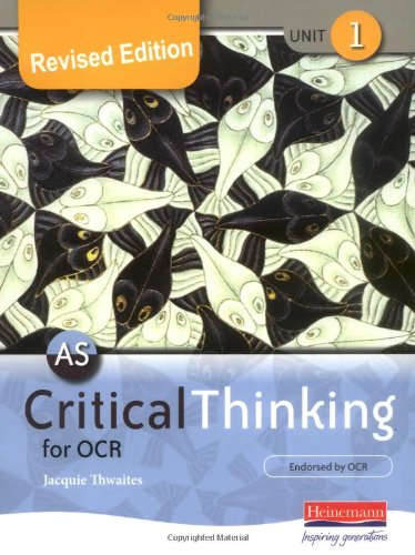 9780435235864: AS Critical Thinking for OCR Unit 1 (Revised Edition): Unit 1