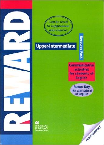 9780435240349: Reward Upper Intermediate: Resource Pack