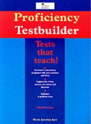 9780435240639: Proficiency Testbuilder: With Key (Macmillan Heinemann English language teaching exam series) (English and Spanish Edition)