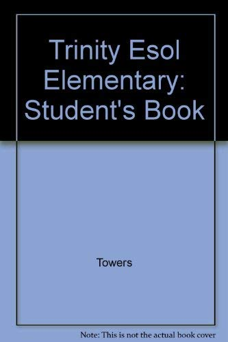 9780435241063: Trinity Esol Elementary: Student's Book