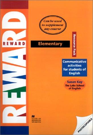 Reward Elementary: Resource Pack: Kay, Sue