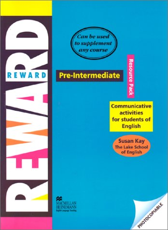 9780435242589: Reward - Resource Pack - Pre Intermediate - Communicative Activities for Students of English (Young Adult/adult Courses)