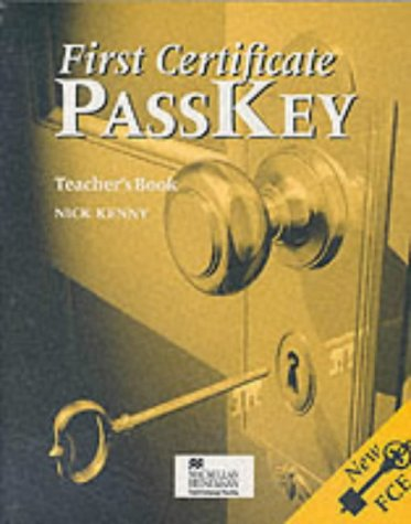 9780435244903: First Certificate Passkey: Teacher's Book (English and Spanish Edition)