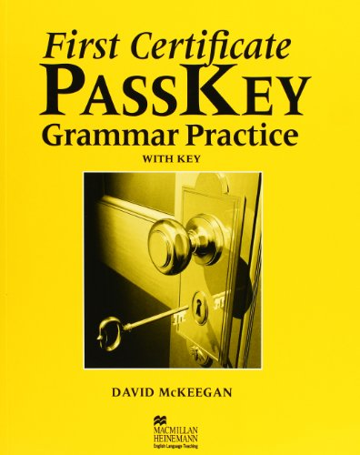 9780435244958: First Certificate Passkey: Grammar Practice with Key (English and Spanish Edition)