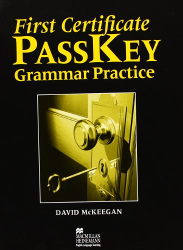 9780435244965: First Certificate Passkey: Grammar Practice without Key (English and Spanish Edition)
