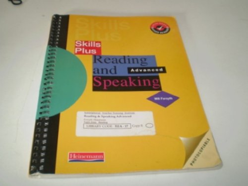 9780435250089: Reading and Speaking: Advanced (Skills plus)
